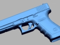 thumbs Glock 20 10mm 3D Scanning & Inspection of Weapons