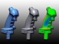3D Scan data, CAD data and comparison