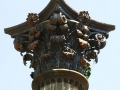 The highest level of resolution was required to capture the handcrafted detail of each column.